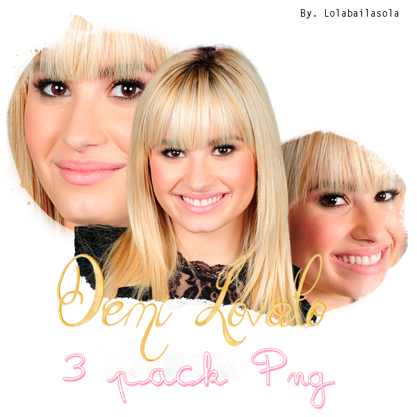Demi Lovato PNG. by lolabailasola