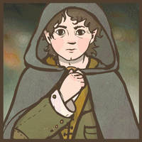 Frodo (ANIMATED GIF) by UllaThynell