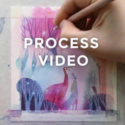 Process video: Finishing touches on Marshmallow
