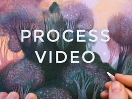 Art process video: Heart