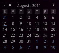 LuaCalendar 6.0 by smurfier