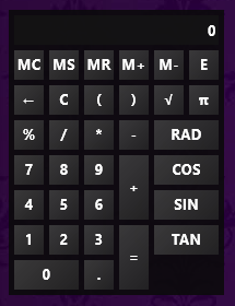 RainCalc 2.0 by smurfier