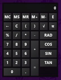 RainCalc 2.0 by smurfier
