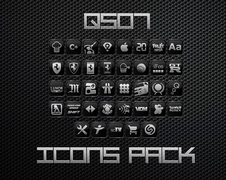 ipod touch icons pack. QS07 Icons Pack by