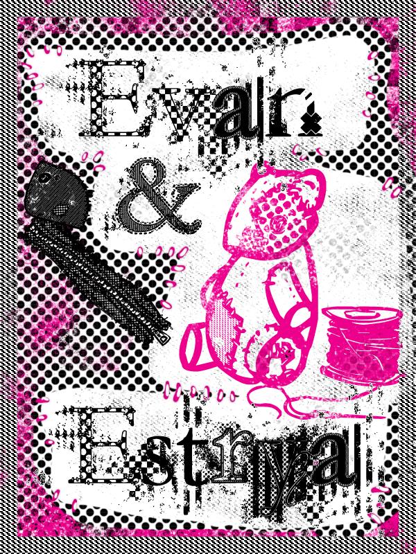 Evan and Estrya font