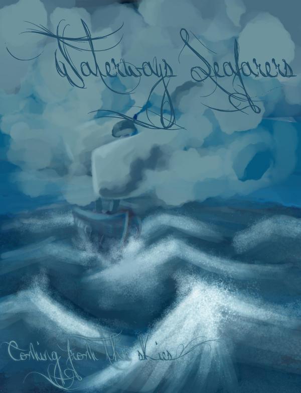 Waterways Seafarers font by Jellyka