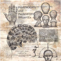 Phrenology Photoshop Brushes by hogret