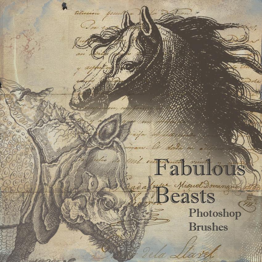 Fabulous Beasts Brushes