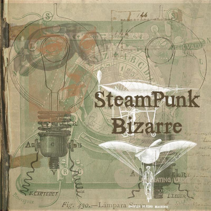 Brushes: SteamPunk Bizarre by hogret
