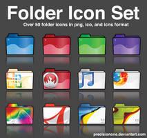 Folder Icon Set by precisionone