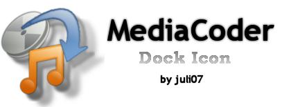 Media Coder Dock Icon by juli07