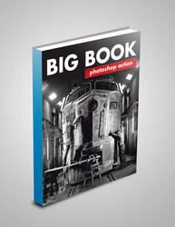 BIG BOOK PHOTOSHOP ACTION by halfnaked