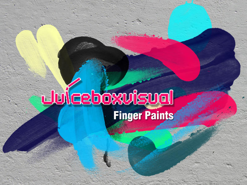 Finger Paints Brush set by LDN755