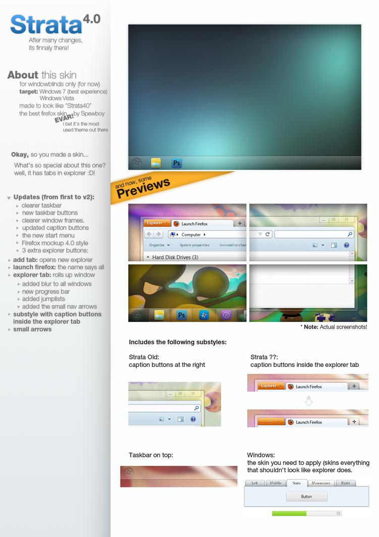 Windows Strata40 by S-u-P-R-e-M-e