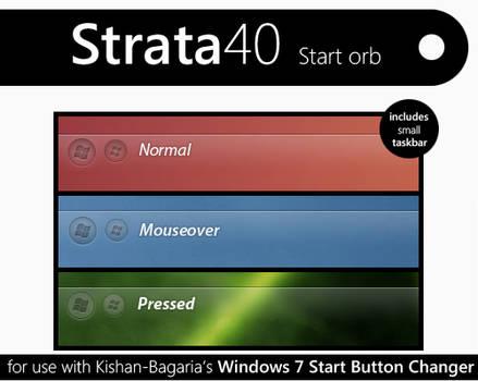 Strata40 windows 7 start orb by S-u-P-R-e-M-e