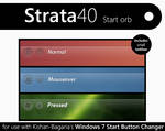 Strata40 windows 7 start orb