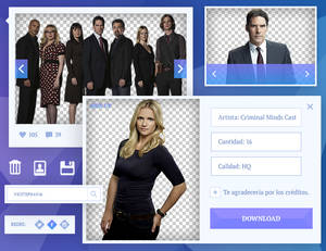 Pack Png #02 - [Criminal Minds Cast]