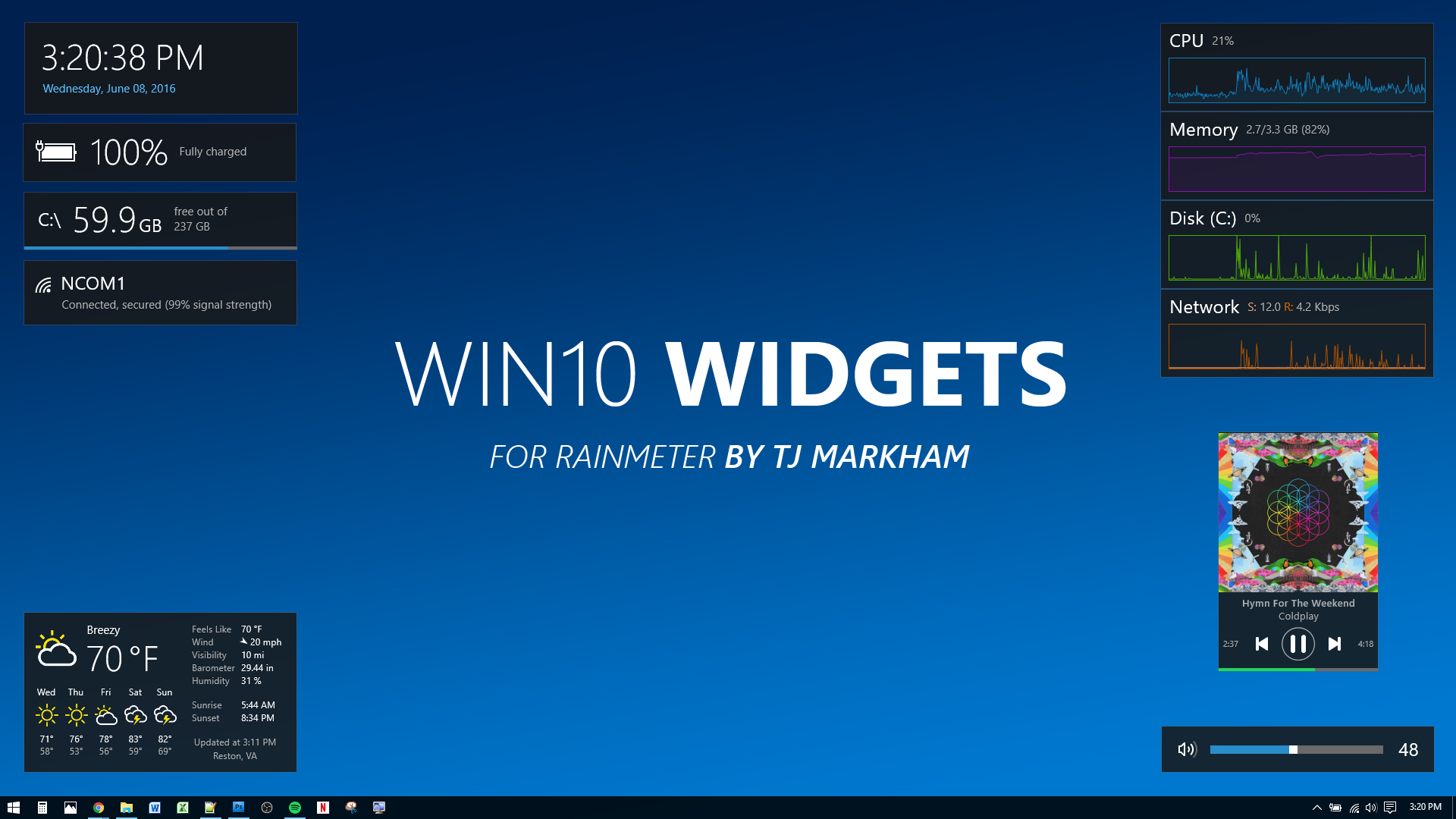 Win10 Widgets by tjmarkham on DeviantArt