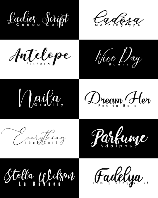 Lost in Arts Font Pack 1