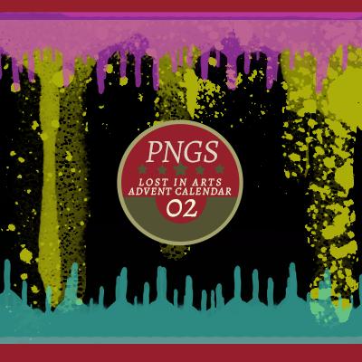 Lost in Arts Advent Calendar PNG 02