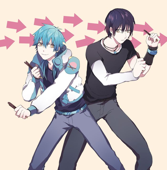 Uke Of Two?! - Aoba x Male!Reader x Ren by SheWolfPlayer on