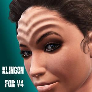 Klingon Headmorph for V4