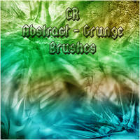 Abstract Grunge Brushes by CRCharisma