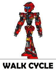 Titanclash : Aphelion Walk Cycle