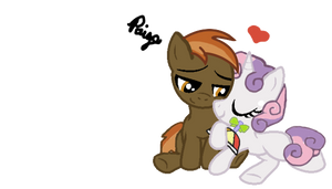 ButtonMash and SweetieBelle
