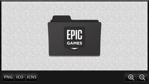 Epic Games Folder Icon