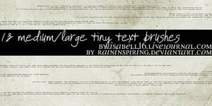 Tiny Text 1