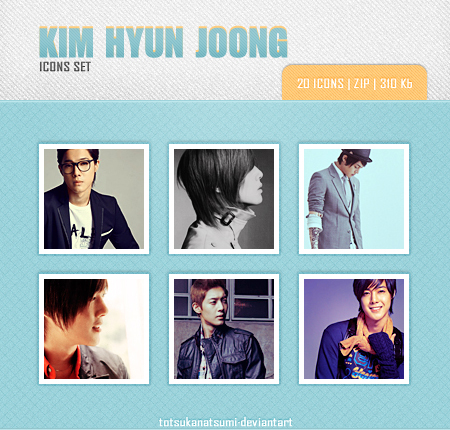 Kim Hyun Joong avatars set1 20 pic. by Minyoung-ssi