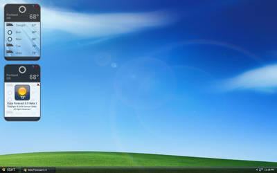 Vista Forecast 0.9 Beta 1 by 1337mobile