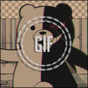Monokuma - Danganronpa #GIF Banner#