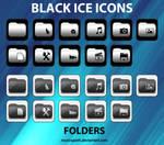 Black Ice Icons - Folders