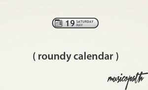 roundy calendar by musicopath
