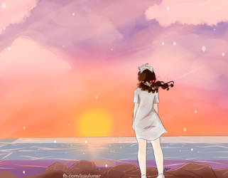 Sunset by Juju-Moon