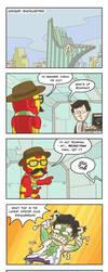 Ironic-Man by Cheekylicious