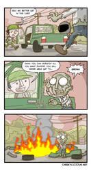 H1Z1 Comicstrip #2 by Cheekylicious