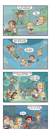Peter Pan and Millenials by Cheekylicious