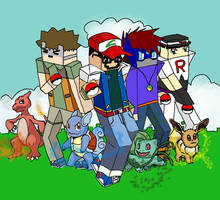 Minecraft daily pokemon style
