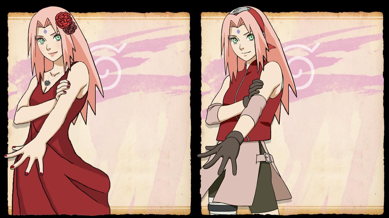Sakura Haruno Long Hair By Itasaku4llenstar On Deviantart