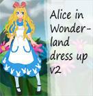 Alice in Wonderland dress up v2