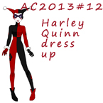 AC2013#12 Harley Quinn dress up by Hapuriainen