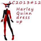 AC2013#12 Harley Quinn dress up