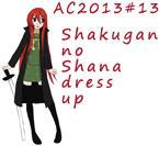 AC2013#13 Shakugan no Shana dress up