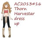 AC2013#16 Thorn Harvestar dress up by Hapuriainen