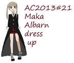 AC2013#21 Maka Albarn dress up by Hapuriainen