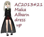 AC2013#21 Maka Albarn dress up