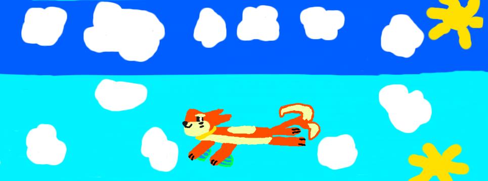 Swimming Buizel by SplashingBuizel